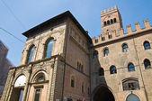 Palace of King Enzo. Bologna. Emilia-Romagna. Italy. — Stock Photo
