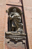 Church of St. Salavatore. Bologna. Emilia-Romagna. Italy. — Stock Photo