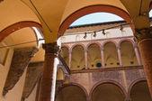 Ghisilardi Fava Palace. Bologna. Emilia-Romagna. Italy. — Stock Photo