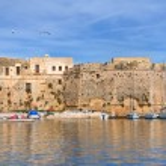Angevine-Aragonese Castle. Gallipoli. Puglia. Italy. — Stock Photo #21912109