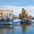 Panoramic view of Gallipoli. Puglia. Italy. — Stock Photo #21915271