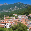 Panoramic view of Maratea. Basilicata. Italy. — Foto Stock