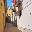 Alleyway. Sant&#039;Agata di Puglia. Puglia. Italy. - Stock Photo