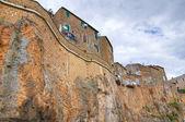 View of Civita Castellana. Lazio. Italy. — Stock Photo