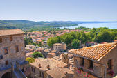 Panoramic view of Bolsena. Lazio. Italy. — Stock Photo