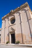 Mother Church of Massafra. Puglia. Italy. — Stock Photo