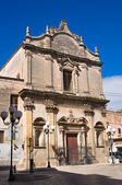 Church of St. Benedetto. Massafra. Puglia. Italy. — Stock Photo