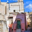 Alleyway. Massafra. Puglia. Italy. — Stock Photo
