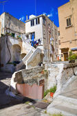 Alleyway. Massafra. Puglia. Italy. — Stock Photo