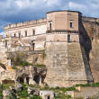 Castle of Massafra. Puglia. Italy. - Foto de Stock