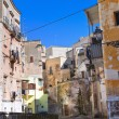 Alleyway. Massafra. Puglia. Italy. - Stock Photo
