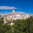 Panoramic view of Massafra. Puglia. Italy. - Stock Photo