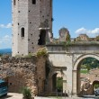 Porta Venere. Spello. Umbria. Italy. — Stock Photo
