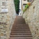 Alleyway. Bevagna. Umbria. Italy. — Stock Photo