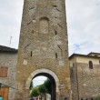Porta Cannara. Bevagna. Umbria. Italy. — Stock Photo