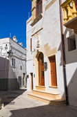 Alleyway. Castellaneta. Puglia. Italy. — Stockfoto