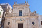 Cathedral of St. Nicola. Castellaneta. Puglia. Italy. — Stock Photo