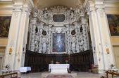 Church of Jesus. Lecce. Puglia. Italy. — Stock Photo
