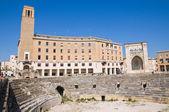 Amphitheatre. Lecce. Puglia. Italy. — Stock Photo