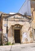 Church of Cristo Re. Lecce. Puglia. Italy. — Stock Photo
