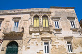 Paladini Palace. Lecce. Puglia. Italy. — Stock Photo