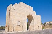 Porta 那不勒斯。拉察。普利亚大区。意大利. — 图库照片