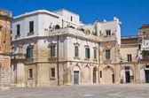 Duomo square. Lecce. Puglia. Italy. — Stock Photo