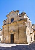 Greek Church. Lecce. Puglia. Italy. — Stock Photo