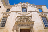 Church of St. Maria degli Angeli. Lecce. Puglia. Italy. — Stock Photo
