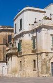 Callejón. Lecce. Puglia. Italia. — Foto de Stock