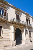 Palombi Palace. Lecce. Puglia. Italy. — Stock Photo