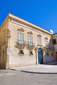 Tresca Palace. Lecce. Puglia. Italy. — Stock Photo