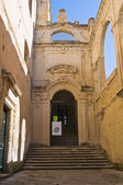 Conservatory of St. Anna. Lecce. Puglia. Italy. — Stock Photo