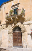 Historical palace. Lecce. Puglia. Italy. — Stock Photo