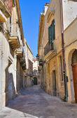 Alleyway. Lecce. Puglia. Italy. — Stock Photo