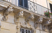 Marrese Palace. Lecce. Puglia. Italy. — Stock Photo