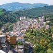 Stock Photo: Panoramic view of Tursi. Basilicata. Italy.