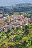 Panoramic view of Tursi. Basilicata. Italy. — Stock Photo