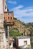 Vista panorámica de tursi. basilicata. italia. — Foto de Stock