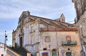教会的圣 filippo neri。tursi。巴西利卡塔。意大利. — 图库照片