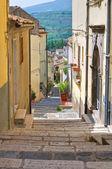 Vico Gradelle. Melfi. Basilicata. Italy. — Stock Photo