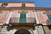Palacio de aquilecchia. melfi. basilicata. italia. — Foto de Stock