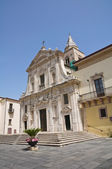 Cathedral of St. Maria Assunta. Melfi. Basilicata. Italy. — Stock Photo