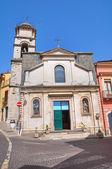 Iglesia del carmine st. melfi. basilicata. italia. — Foto de Stock