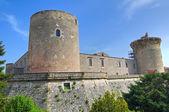 Zamek venosa. basilicata. włochy. — Zdjęcie stockowe