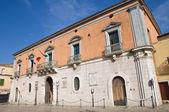 Palacio de calvino. venosa. basilicata. italia. — Foto de Stock