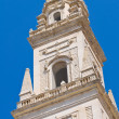 Belltower of Duomo Church. Lecce. Puglia. Italy. — Stock Photo