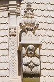 церковь святого matteo. лечче. апулия. италия. — Стоковое фото