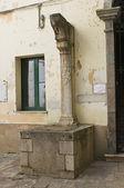 Palazzo della corte. melfi. basilicata. itália. — Foto Stock