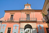 Palazzo della Corte. Melfi. Basilicata. Italy. — Stock Photo